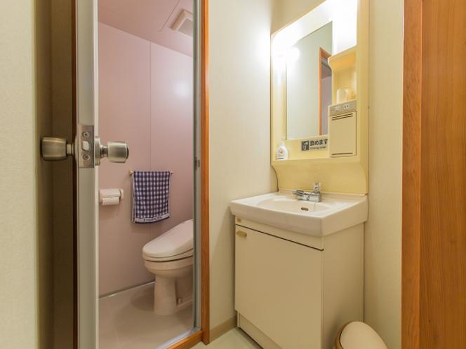 本館客室は全室トイレと洗面付