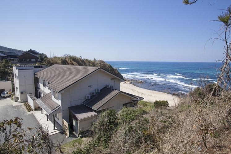 当宿と海水浴場