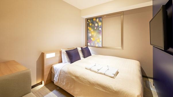 【禁煙】スーペリアダブル160cm幅ベッド<1名利用>