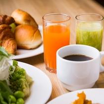 朝食:ドリンクビュッフェ
