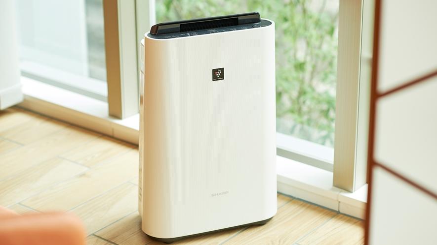 客室備品:空気清浄機(加湿機能付き)