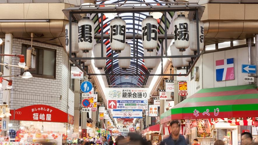 大阪観光スポット:黒門市場