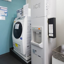 設備)製氷機&洗濯機(ドラム型)