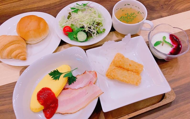 5/1~朝食セットメニュー洋食
