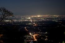 弥彦山・夜景