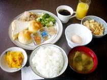 ある日の朝食メニュー