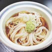 *【ご夕食一例】鶴岡名物!ご当地麺・麦切り
