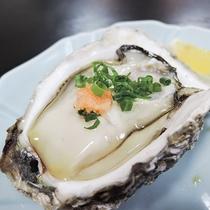 *【ご夕食一例】初夏の旬・岩牡蠣!大粒で濃厚&クリーミーな味わい