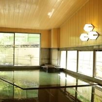 *【大浴場/笑湯】湯田川温泉は庄内三名湯のひとつ。トロトロの泉質でお肌ツルツル♪