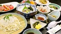*【ご夕食一例】/山形の郷土料理と海の幸を贅沢に使った食事を御用意致します。