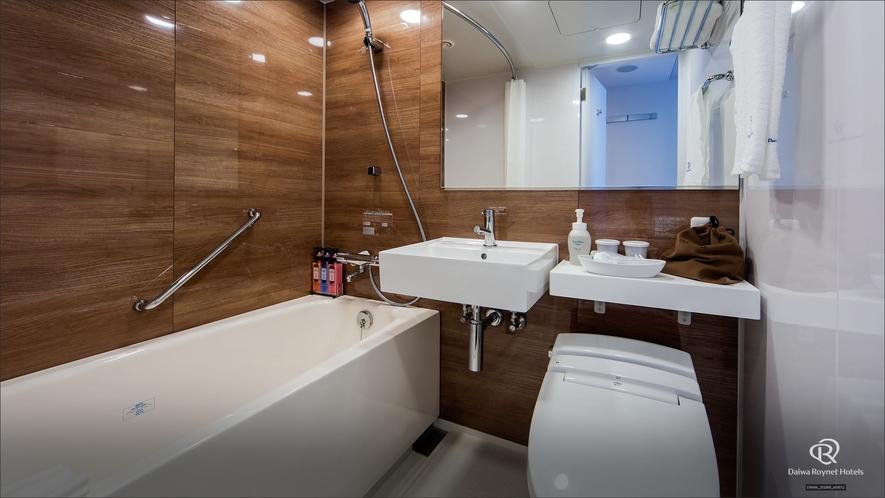 スタンダードBルームのバスルーム