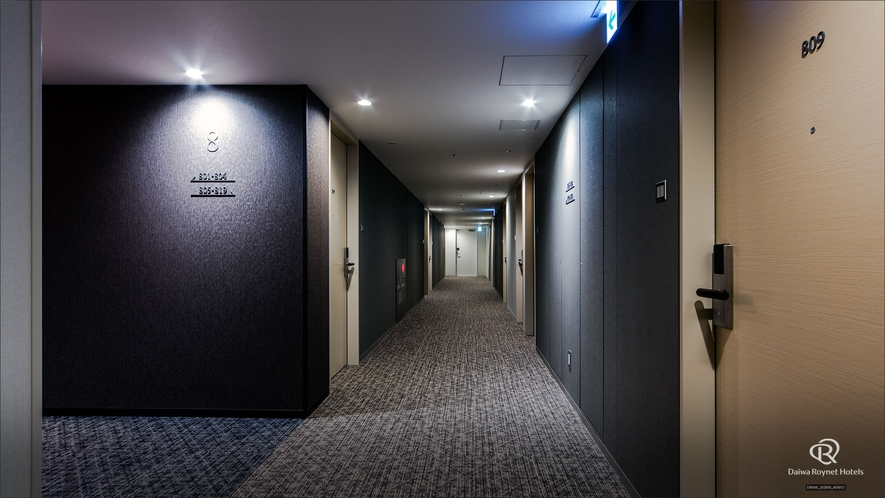 客室フロア(廊下)