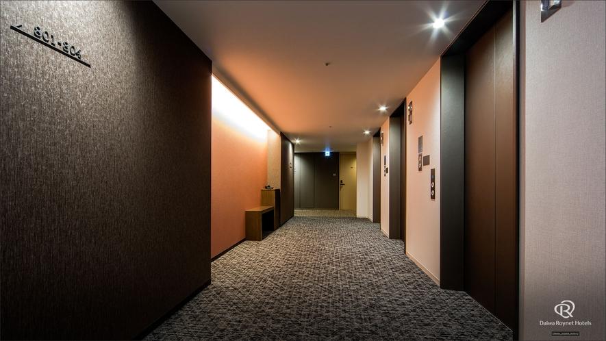 客室フロア(廊下)2