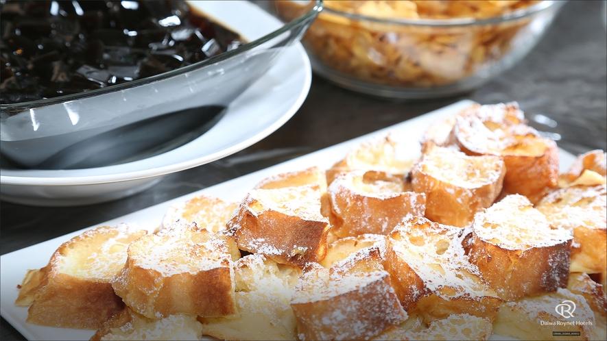 朝食(フレンチトースト)2