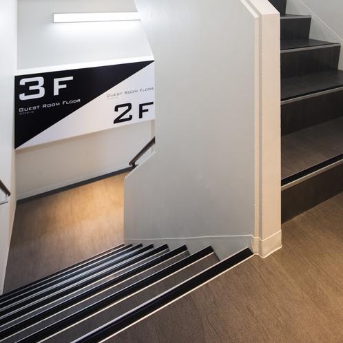 施設内階段