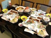 夕食(夏季)の一例