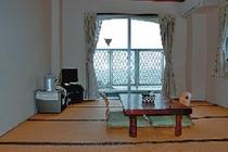 客室(オーシャンビュー海側和室10帖)