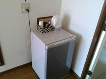 客室冷蔵庫・電気ケトル