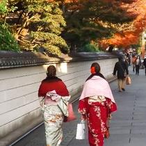 着物で京都観光