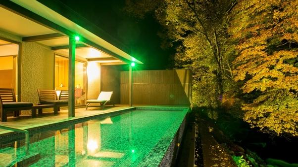 【関山 kanzan】プライベート温泉プール付川沿いヴィラ