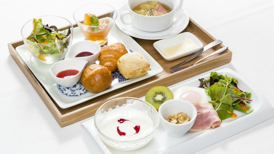 【ご朝食一例】洋食or和食どちらかお選び頂けます。