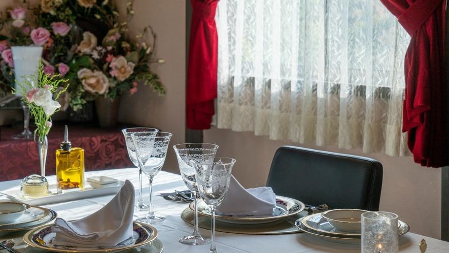 【Dinner一例】美味しいお料理と一緒に楽しみたいオーナー厳選のワインや冷酒。