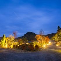 大分県九重町涌蓋山「わいたさん」の麓。四季折々の彩りと故郷の懐かしい風景。