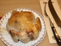 大山鳥をダッチオーブンでたっぷり野菜と焼き上げました。