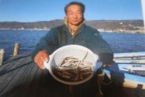 オーナー得意のワカサギ釣りの釣果です。