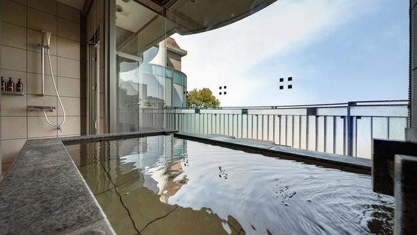 ルミエールツイン(63平米)+/源泉かけ流し半露天風呂付き