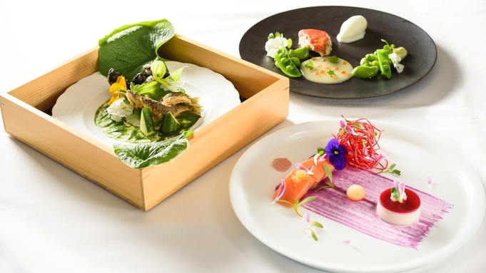 【軽めのお食事】お肉料理orお魚料理を選ぶ 〜ライトディナーコース〜