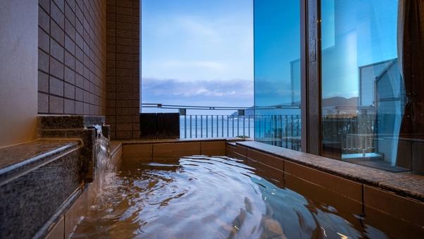 ダブル|洋室(40平米)+源泉かけ流し露天風呂