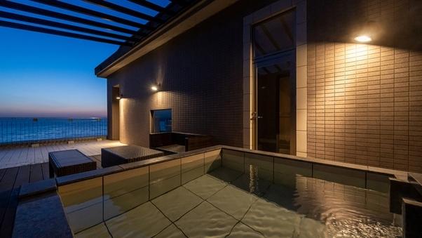 スイート|洋室(58平米)+源泉かけ流し露天風呂