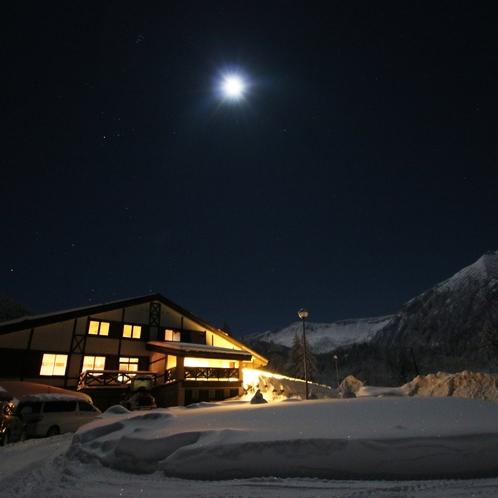 ・月夜の思惟林(冬)・