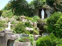 【周辺】大江天主堂とルルドの聖母