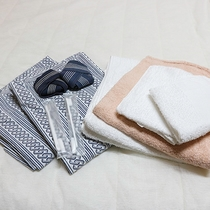 *【アメニティ】浴衣・タオルセット・歯磨きセットなどをご用意しております。