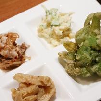 【夕食一例】旬の食材を美味しくお召し上がりください。