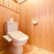 *[離れ]ウォシュレット付のトイレ完備。