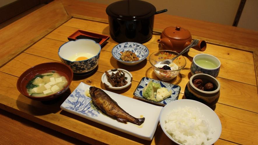 [朝食]朝から栄養満点☆身体にやさしい和定食をご用意いたします。