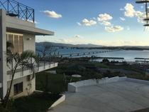 Villaと海