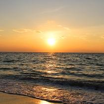 *石垣島の大自然/美しいサンセットは是非見ていただきたい景色のひとつ☆