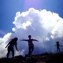 *石垣島の太陽のパワーをたっぷり吸収!みーんな無邪気に、子供のように♪