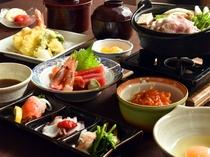 【夕食膳】日々頑張っている自分へのご褒美と癒しのご夕食をご堪能ください。