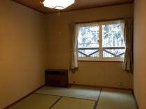 3名様までの素泊まり用の和室☆