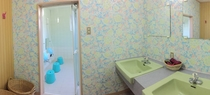大風呂の脱衣所