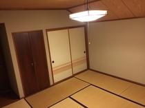 3名様までの素泊まり用ゆったり和室☆