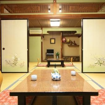 一棟貸切(和室8〜10×2部屋)
