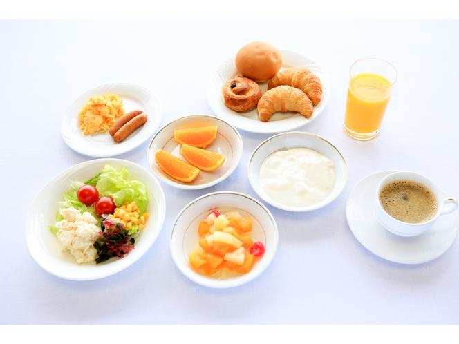 朝食(洋食)盛り付け例
