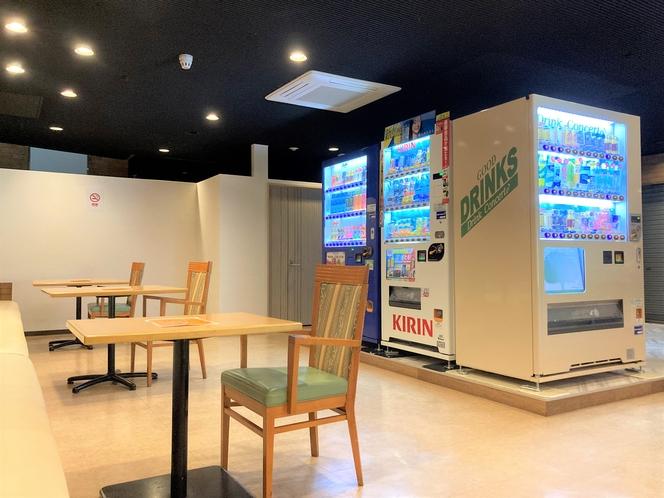 1F自動販売機コーナー②