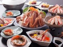 蟹のフルコース 日本海の珍味「セコ蟹」にも付いております